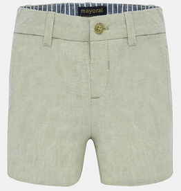 boy mayoral linen shorts