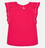 girl mayoral flutter sleeve blouse