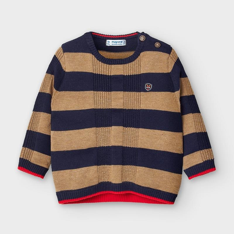 boy mayoral striped sweater
