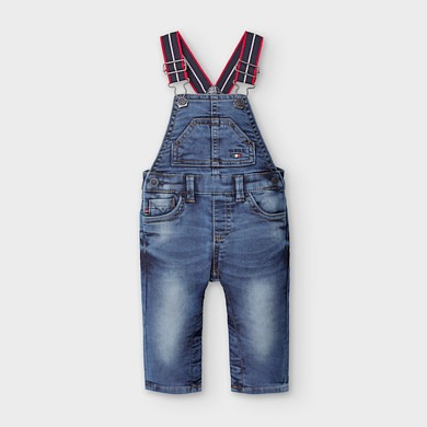 boy mayoral denim overalls