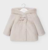 little girl mayoral faux fur coat
