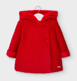 little girl mayoral boucle coat