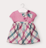 little girl mayoral checked dress