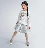 girl mayoral tulle skirt