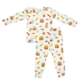 little boy angel dear lounge wear set
