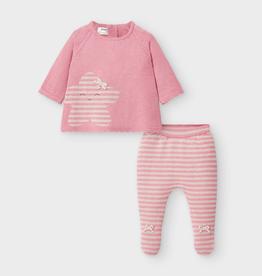 little girl mayoral knit set