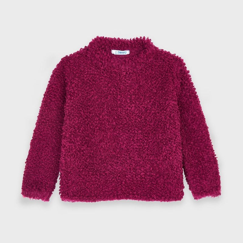 girl mayoral textured sweater