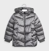 girl mayoral long puffer coat