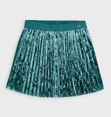 girl mayoral velvet skirt
