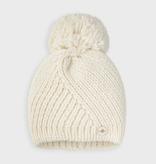 girl mayoral pompom hat