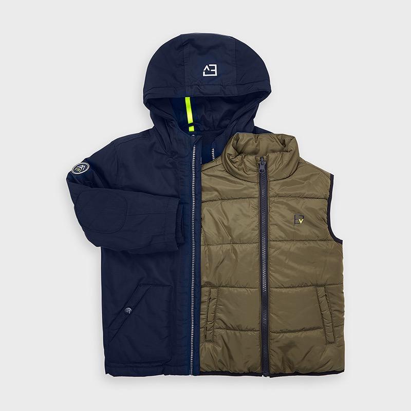boy mayoral coat & vest