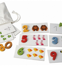 playtime plantoys number cards 2y+