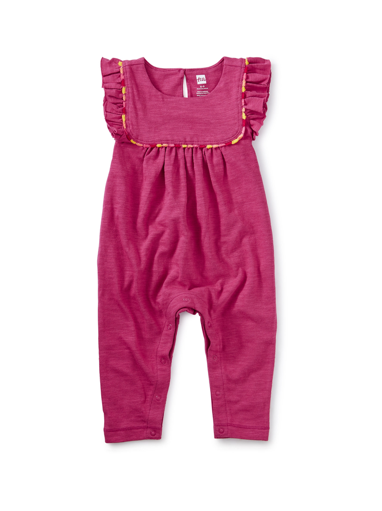 little girl tea collection ruffle romper