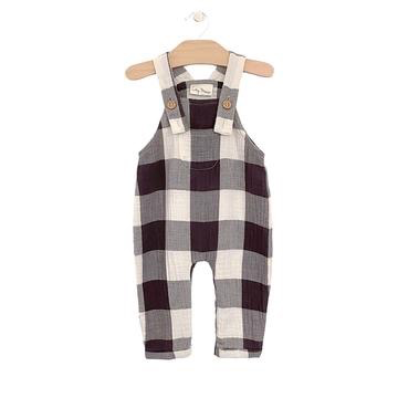 kid city mouse crinkle cotton overall