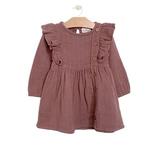 girl city mouse muslin placket dress