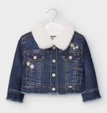 little girl mayoral denim jacket