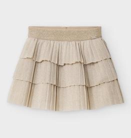 little girl mayoral pleated ruffle skirt