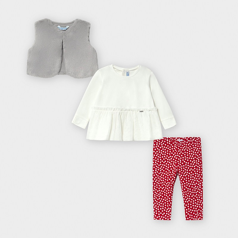little girl mayoral 3 piece set