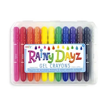 playtime ooly rainy day gel crayons (set of 12)
