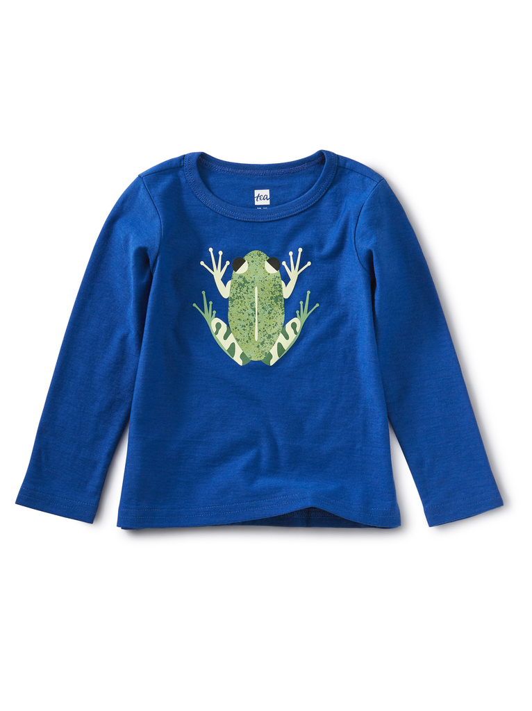little boy tea collection graphic tee