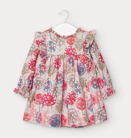 little girl mayoral microcord dress
