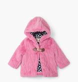 kid hatley faux fur hoodie