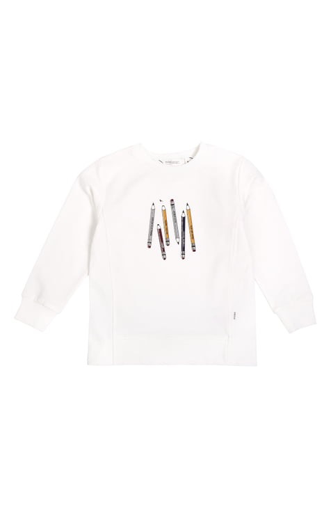 kid miles baby sweatshirt
