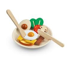 playtime plantoys breakfast set 2y+