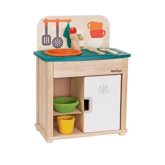 playtime plantoys sink and fridge 3+