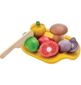 playtime plantoys assorted vegetable set 18m+