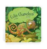 playtime jellycat colin chameleon, book