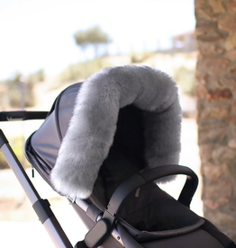 fashion accessory 7am enfant fur marquee, stroller & carseat