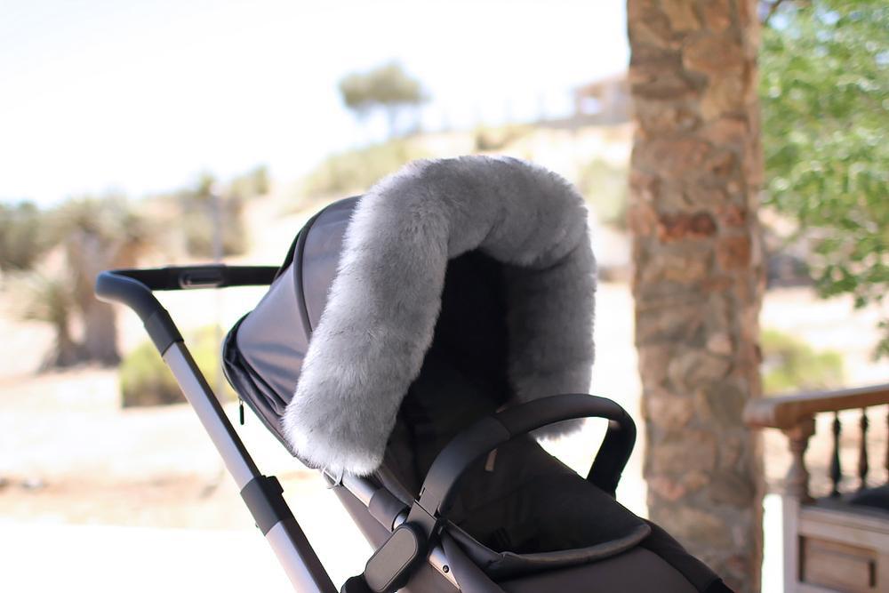 fashion accessory 7am enfant fur marquee, stroller & carseat