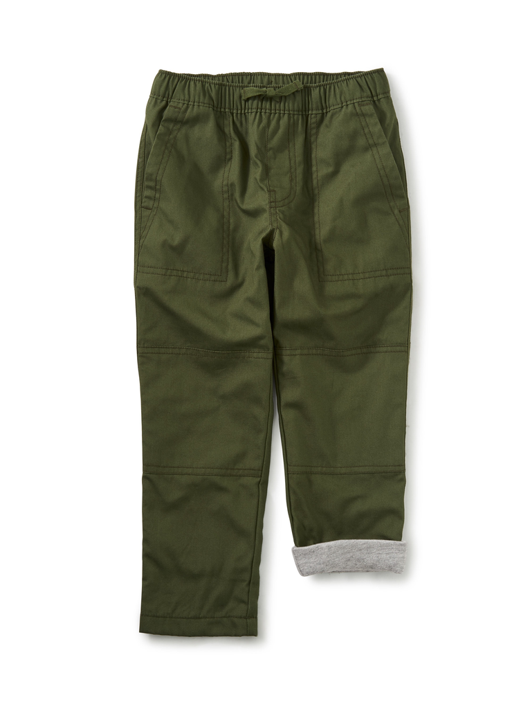 boy tea collection jersey lined pant