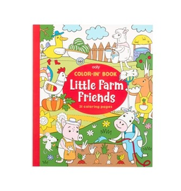 playtime color-in book: little farm friends