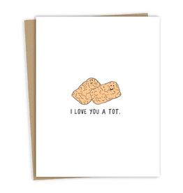book love you a tot card