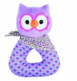 playtime organic patterned rattle (more colors)