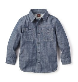 master tea collection chambray shirt