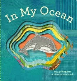 book in my ocean: finger puppet book