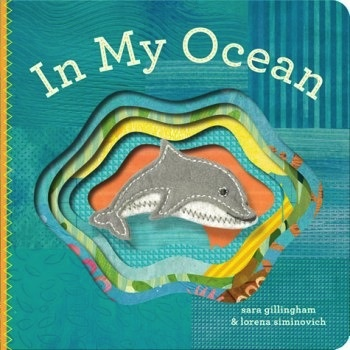 book in my ocean: finger puppet book