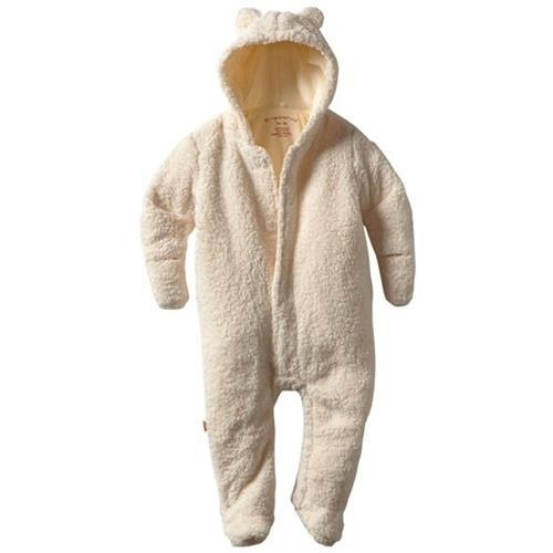 baby magnificent baby bear footie
