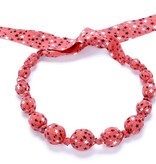 fashion accessory beaded cloth stars necklace