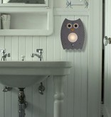 decor modern moose grey owl nightlight