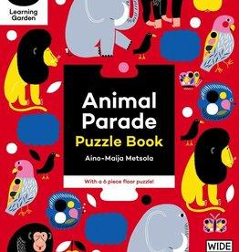 book animal parade: puzzle book