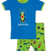 boy short pajama set