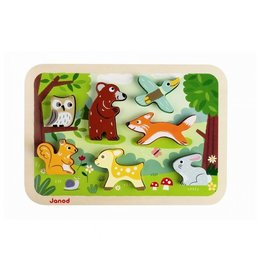 playtime forest chunky puzzle