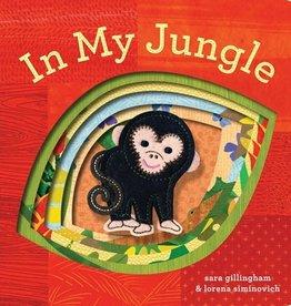 book in my jungle: finger puppet book