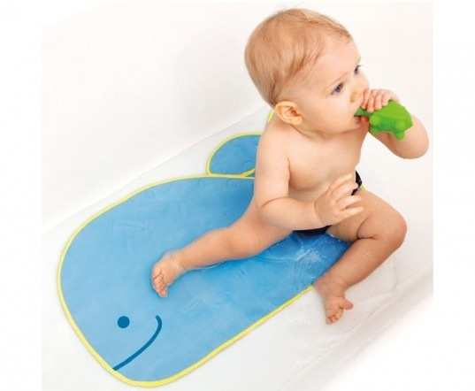 bath skip hop bath mat, moby DISC