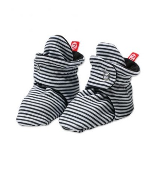 fashion accessory Zutano candy stripe baby booties