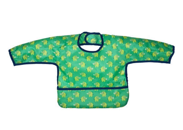 feeding lassig long sleeve bib